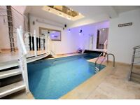 Luxury Two Bed Flat with Swimming Pool and Sauna N19