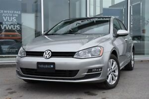2015 Volkswagen Golf 1.8 TSI Comfortline A/C CUIR CRUISE TOIT PA