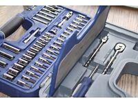 Blue Point by Snap On 47 pcs 1/4 General Service Kit Socket Set Tools