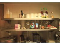Commercial Stainless Steel Double Shelf
