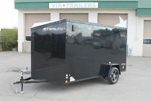 2019 Stealth Trailers Titan SE 6x12 Enclosed Trailer w/Black Out