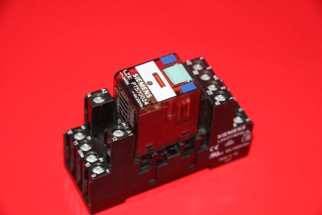 Siemens  Relais LZX:PT570024 24V DC, 6A mit Sockel LZS:PT78740