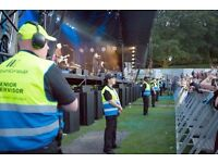 Event Security Stewards (Part time / weekends)