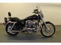 Harley Davidson XL1200C - Black - 2700m - One owner.
