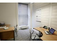 SMALL OFFICE FOR SHORT or LONG TERM LEASE IN PRIME OFFICE ON BATH STREET, GLASGOW