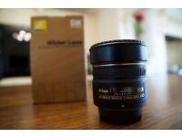 Nikon 10.5mm F/2.8 DX AF ED G Fisheye Lens