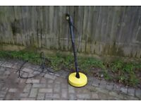 KARCHER PATIO LANCE AND BRUSH T-50 T-RACER