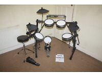 Alesis DM5 PRO Electronic Drum Kit (complete with sticks and stool and headphones)