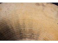 "Paiste 2002 20"" Ride cymbal - Hollow logo- '70s - Swiss"