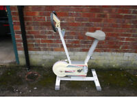 A Euro 200 exercise bike, used, but in good condition.