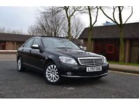 ✅LOOK EXTRAS 2007 MERCEDES C220 ELEGANCE CDI SE 7G AUTO SAT NAV PANORAMIC ROOF PARKING SENSORS