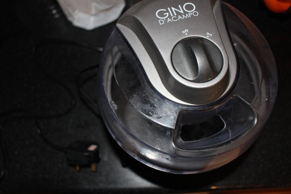 Gino D'Acampo Ice Cream Maker