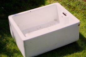 Belfast Sink for herb planter