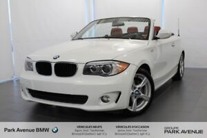 2013 BMW 1 Series  * Cuir Rouge / Accès Confort / RWD *