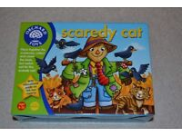 scaredy cat game - Orchard Toys. (brand new)