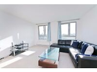 2 Double Bedroom, 2 Bathroom Modern Apartment with Concierge, Gym, Car Park.