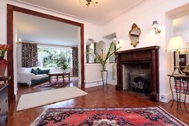 SUPERB FIVE/SIX BEDROOM HOUSE ON EVELYN GROVE WITH GARDEN AND OFF-STREET PARKING £3295 PCM