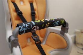 CHILD BIKE SEAT attach to adult bike - TOPEAK Babyseat II With Rack For Disc Wheel
