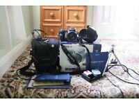 Sony Cyber Shot DSC-H9 Camera & Accessories
