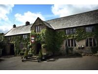 SOUS/COMMIS CHEF or COOK -The Oxenham Arms Hotel nr. Okehampton Devon