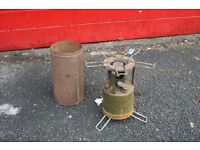 WWII British army Hurlock Stove, Paraffin stove, military stove