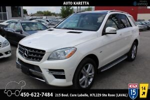 2012 Mercedes-Benz M-Class ML350 BT/NAVIGATION/PANORAMIC/CAMERA/