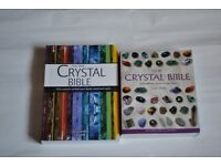 Crystal Bible & The New Crystal Bible Books
