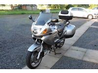 Honda Deauville 650 2002. Essential accessories fitted.