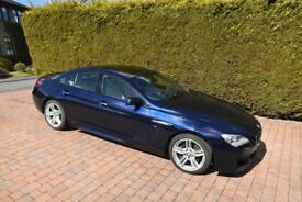 BMW 6 Series Gran Coupe 3.0 640d M Sport Gran Coupe Steptronic 4dr in Tanzanite Blue