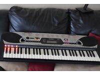 YAMAHA EZ-20 KEYBOARD 61 KEYS/LIGHT UP KEYS/POWER ADAPTER INCLUDED