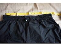 Mountain Warehouse Spray Mens Waterproof Trousers Black