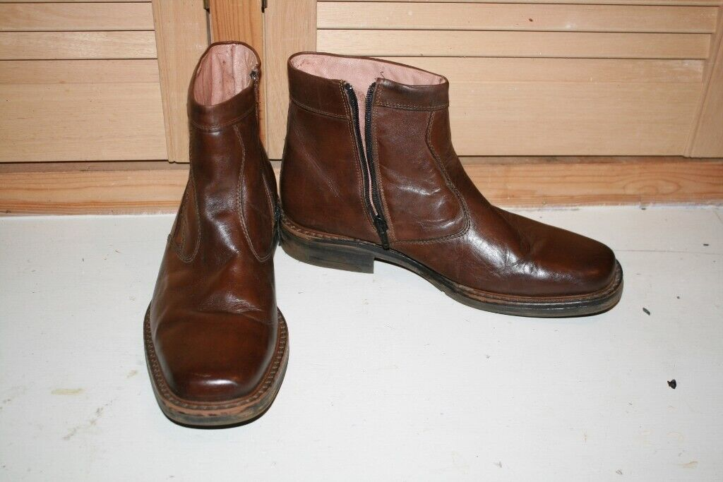 a3032cc7992 Leather boots size 44 (9.5)   in Yeadon, West Yorkshire   Gumtree