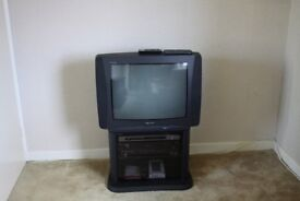 Television, DVD Player, VCR Recorder