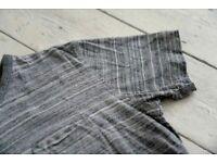 YMC Mens Grey T Shirt Small S FREE SHIPPING 🇬🇧
