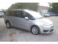 Citroen C4 Picasso plus vtr hdi auto 7 Seater 2007-77-plate, 1560cc diesel, 91,000 miles, F.S.H
