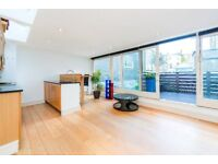Two bedroom, two bathroom maisonette with a large private roof terrace in Holland Park.