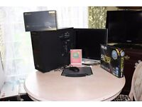 Gaming PC BUNDLE!! Plug and Play READY. i5-3570K 4.2GHz /GTX 670/Monitor/Gaming Mouse&Pad/12GB RAM