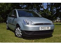 2003 FORD FIESTA 1.2 PETROL , ONLY 62000 MILES , FULL SERVICE HISTORY