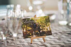 WEDDING DECOR - MINI EASEL FOR TABLE NUMBER HOLDER