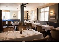 Creative and willing Chef de Parties seeked for Mayfair pub & restaurant- great service charge!