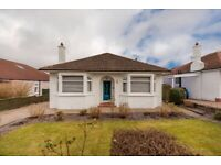 Unfurnished, two double bedroom bungalow situated in Cramond - VIDEO VIEWING AVAILABLE
