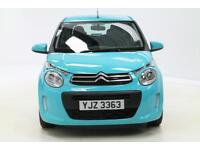 Citroen C1 FEEL (blue) 2016-03-16