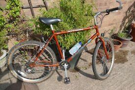 Man's Claud Butler 'Athon' off-road/road bike