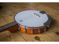 epiphone banjo like new