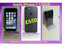 Apple iPhone 7 128GB (o2) Includes free case