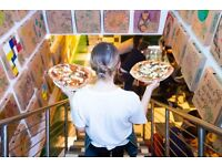 Pizza Pilgrims seeks Waiting Staff, Waiters, Waitresses in Exmouth Market/Clerkenwell EC1R 4QD