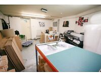 Basement Studio, Workshop or Storage Space Only £220/Month All In