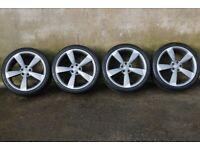 "Genuine 20"" Audi Rotor Alloys & Tyres"