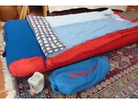 Junior Ready Bed (blue/red)