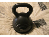 Kettlebell Kettle Bell Weight 10 kg Home Training Plastic Coated